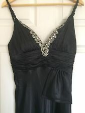 Beautiful Black, Floor Length, Evening Gown / Prom Dress, Size 12