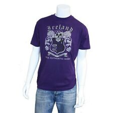 Tee Shirt Purple Urban Ink Skull & Crest t shirt New
