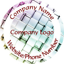 Personalised Business Name Stickers Thank You Seals Your Logo Labels - L1097