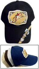 """Rodeo"" Riding Horse Baseball Caps  Embroidered 1Pc or 6Pc Lot (ERodeo78)"