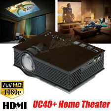 UC40 1800LM HD 1080P Pro LED Home Theater Cinema Game Projector HDMI VGA USB Hot