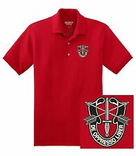 United States Army - Special Forces Group De Oppresso Liber DryBlend Polo Shirt