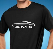 1968-69 AMC AMX Classic Muscle Car Tshirt NEW FREE SHIPPING