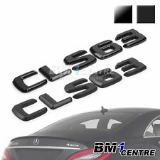 BLACK REAR BOOT EMBLEM BADGE CLS63 FOR MERCEDES BENZ CLS CLASS W218 W219 AMG