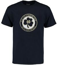 Notre Dame Fighting Irish Mens Play Like A Champion Navy Shirt Adult Size M
