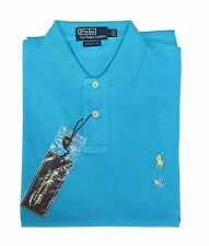 *NWT - POLO RALPH LAUREN Men's Mesh Knit Polo Pique - LT.BLUE - Sizes: S - XL