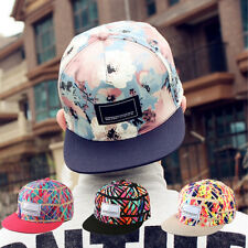 Fashion Men's Snapback Adjustable Baseball Cap Hip-Hop Hat Cool Floral Print New