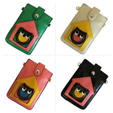 Owl Valuables Pouch with Long Strap Mobile Phone Holder Women Girls Pouches Bags
