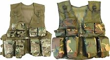 KOMBAT UK KIDS ASSAULT VEST ARMY CADET COMBAT FISHING HUNTING VEST DPM/BTP CAMO