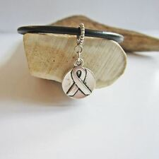 Circle Double-Sided Ribbon European-Style Charm and Bracelet- Free Shipping