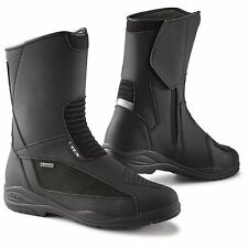 TCX Motorcycle Boots Exploer Evo Gore Tex Black WP Motorcycle Riding Boot