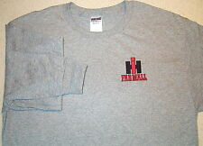 Mens IH Farmall Embroidered Long Sleeve T-shirt (4 colors)