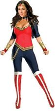 Licensed ADULT WONDER WOMAN  Deluxe Costume Super Hero Outfit Justice League - R