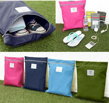 Travel Storage Tote Bag Pouch Laundry Portable Fashion Waterproof Zipper Shoe