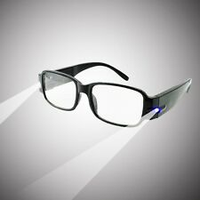 Reading Glasses With Dual Led Lights Come With Plastic Hard Case for Unisex new
