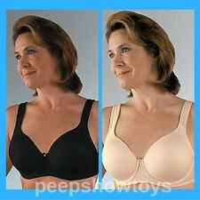 Classique Mastectomy Bra #758 Underwire Seamless Molded Soft Foam Cups All Sizes