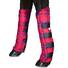 Snuggy Hoods Fleece Shipping Boots-Leg protection/support-3 Colors-4 Sizes!