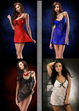 Classic Stretch Lace sexy Babydoll Off Shoulder 10 12 14 16 18 20 22 24 26 28 30