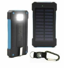 New 300000mAh Dual USB Solar Power Bank Portable Solar Battery Charger For Phone