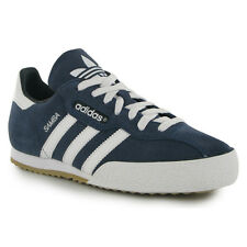 Adidas Samba Super Suede Navy Blue Mens Trainers