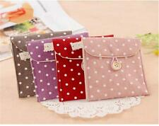 Women Girl Sanitary Napkin Towel Pads Small Bag Purse Holder Organizer GO