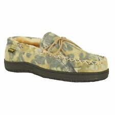 Old Friend Mens Camouflage Moccasin Slippers