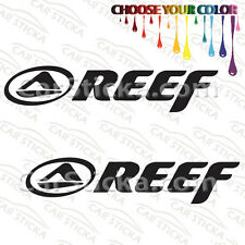 "2 of 8"" Reef Surf /A skate car truck window bumper stickers decals"