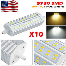 10X Dimmable 25W R7S J189 5730 SMD 60LEDS Lamp Corn Light Bulb Warm Cool White