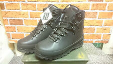 GERMAN ARMY LEATHER MOUNTAIN BOOTS | GORE-TEX LINED |  VIBRAM SOLE