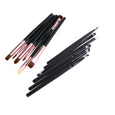 Tool Eye Shadow Foundation Cosmetic Pro Brush 6Pcs Blending Eyeshadow Makeup