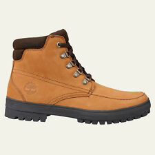 Timberland Wheat Nubuck Leather Men's Year-Round Hiker Boots Style A15BX
