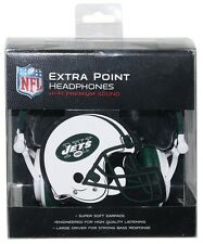 New York Jets NFL Ihip Extra Point Headphones Ipod Iphone MP3 Compatible