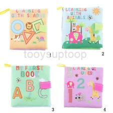 Educational Intelligence Development Soft Cloth Learnning Cognize Book For Baby