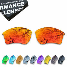 TAN Polarized Lenses Replacement for-Oakley Half Jacket XLJ Sunglasses
