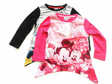 Disney Minnie Mouse Long Sleeve Top T-Shirt Minnie Mouse Girls Top 2016 Age 2-8Y