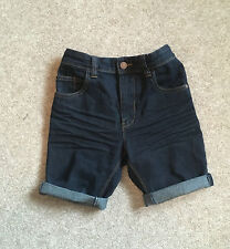 Boys Next Denim Dark Denim Shorts Age 8 BNWOT