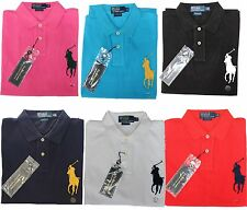 *NWT - POLO RALPH LAUREN Men's BIG PONY Custom Fit Polo Shirts :  S - XL