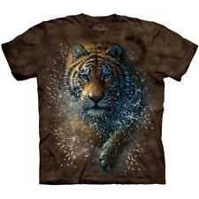 TIGER SPLASH T-Shirt The Mountain Running Big Cat Siberian Bengal Zoo S-3XL NEW