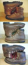 MEN'S BROWN MOUNTAIN CLIMBING MOUNTAINEERING BOOTS GRONELL CAMP 7 RAICHLE VASQUE