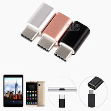 10x Micro USB to USB 3.1 Type C Adapter Charger Converter For LG G5 Nexus 6P/5X