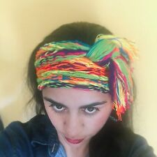New colombian multicolors wayuu turban headband spring summer boho beach