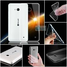 0.2mm ULTRA THIN Rubber TPU Gel SOFT Back Cover Case For Nokia Microsoft Phones