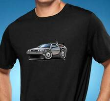 Delorean DMC Back to the Future Classic Car Tshirt NEW FREE SHIPPING