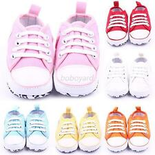 0-18M Infant Toddler Baby Boy Girl Kid Soft Sole Crib Casual Sneaker Shoes