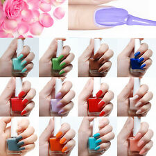 12ML Candy Colors Women Beauty Matte Transfiguration Nail Polish Frosted Surface