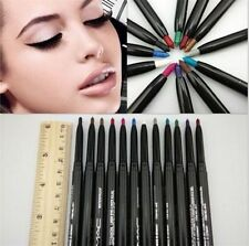 1-12PCS /Set New Waterproof Kohl Crayon Eyeliner Eye Pencil Makeup Cosmetic Gift
