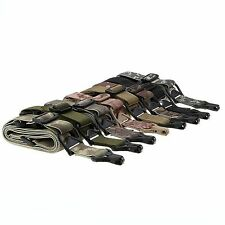 """Tactical 1/2 Point Quick Release QD Multi Mission 1.25"""" Rifle Sling Swivel End"""
