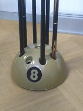 Stunning 8 Ball Cue Rack (Cue Stand) - Holds up to NINE Snooker & Pool cues