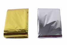 Promotion First Aid Emergency Blanket Survive Rescue Curtain Lifesaving Blanket