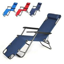 New Outdoor Lounge Chair Zero Gravity Folding Recliner Patio Pool Lounger DKVP